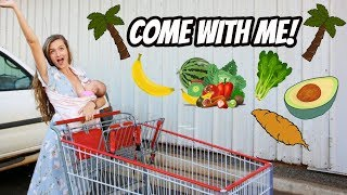PLANTBASED GROCERY SHOP! TEEN MOM OF 3 IN HAWAII!
