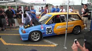 6TWO1 : Spoon Sports Honda Civic E-AT (Wonder Civic) @ Honda Day ETOWN 2013
