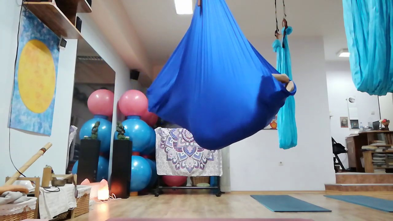 Aerial Yoga With Maria Videva Stoilova The Vampire Is Moving Inside The Cocoon
