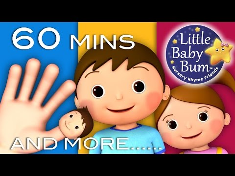 Finger Family  Plus Lots More Nursery Rhymes!  60 Minutes Compilation from LittleBaBum!