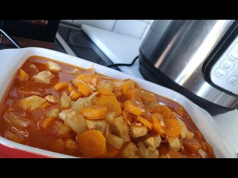 instant-pot-sweet-and-sour-chicken-poulet-aigre-dous-smiling-cooking-with-benji