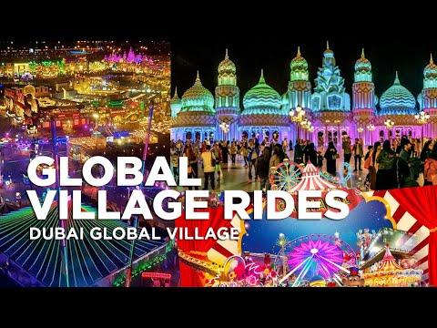 Global Village Dubai Rides | Dubai Global Village 2020 – 24th Season| Global Village Carnaval