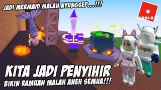Ngakak!! Bikin Ramuan malah Aneh - Wacky Wizards Roblox Indonesia