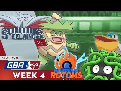 RAINY DAY IN THE CITY! • Detroit Steel Wings vs Melbourne Rotoms GBA W4 • Pokemon Ultra Sun and Moon