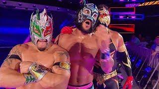 Kalisto, Gran Metalik and Lince Dorado (Lucha house party)