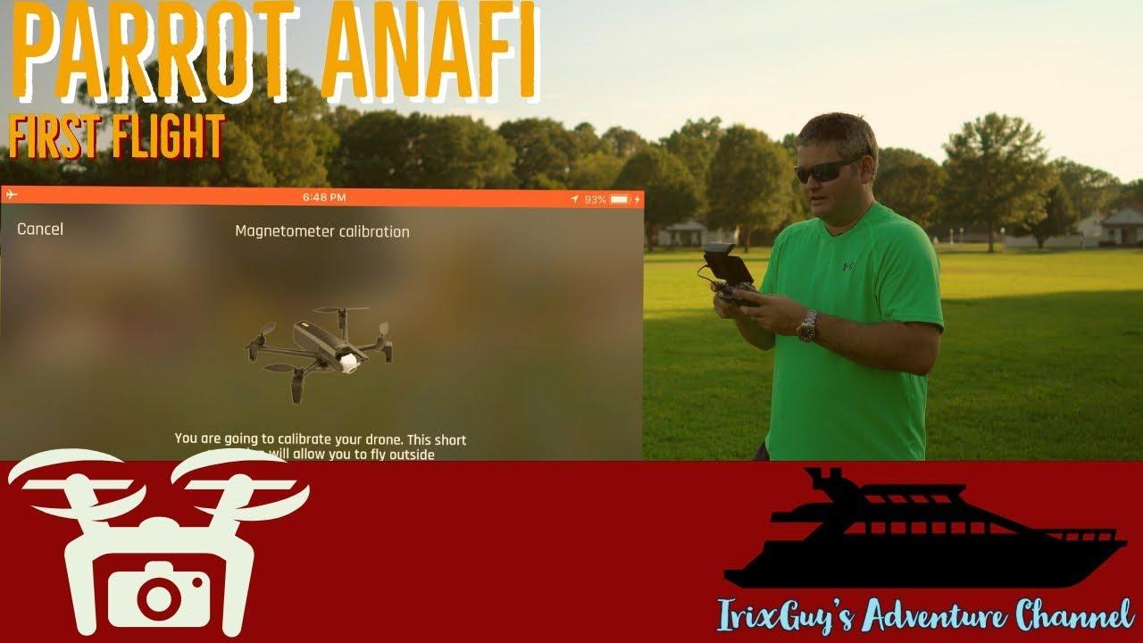 Parrot ANAFI First Flight