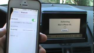 how to Pair Phone to Mercedes Benz Phone System  Bluetooth