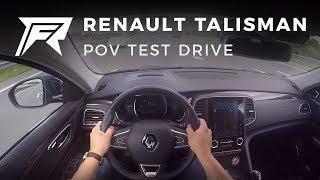 2017 Renault Talisman Estate dCi 110  - POV Test Drive (no talking, pure driving)