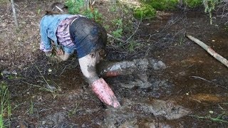 Forest adventures in thick mud