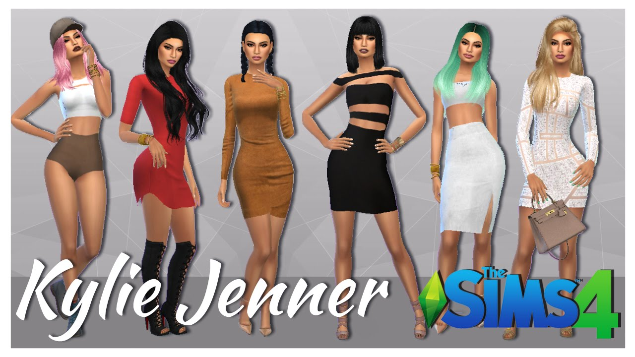 Sims 3 red dress kylie
