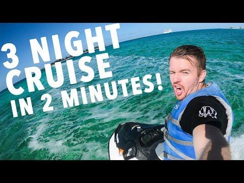 Cruise Shipping Away! GOPRO 6!
