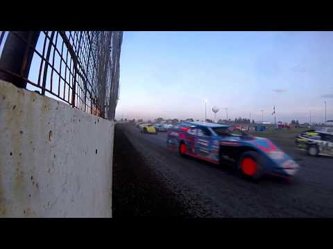 Sheyenne River Speedway - 8-6-2017 - GoPro Wall CAM - Wissota Midwest Modifieds