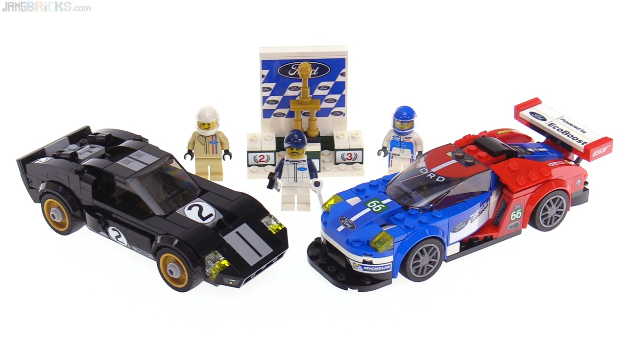 lego speed champions ford gt gt40 review 75881 youtube. Black Bedroom Furniture Sets. Home Design Ideas