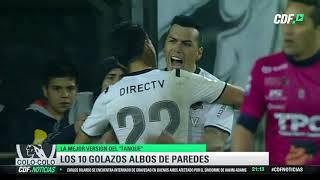 ¡Los 10 mejores goles de Esteban Paredes con Colo Colo!