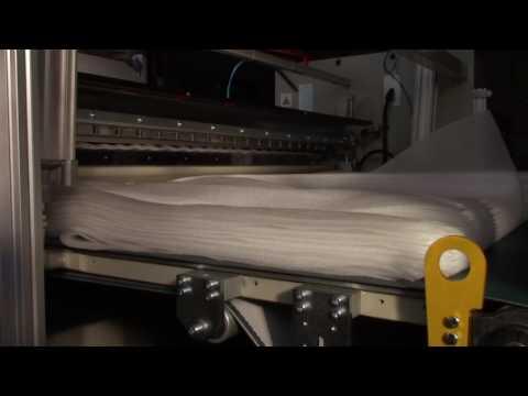 TE 21/1200 SHEETER FOR BUBBLE WRAP AND PE FOAM