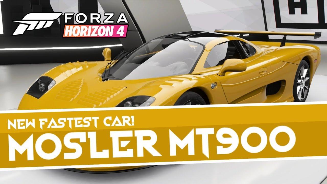 Forza Horizon 4 New Fastest Car 294 Mph Youtube