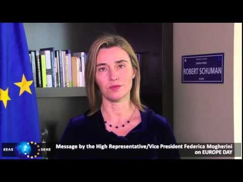 Message by the High Representative/Vice-President Federica Mogherini on Europe Day