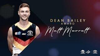 Dean Bailey Award: Matt Merrett