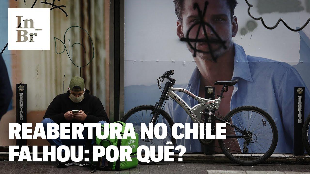 Chile na pandemia do coronavírus: por que a reabertura fracassou