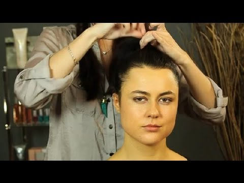 how to style medium short hair how to put hair up in a high ponytail shoulder 2692 | hqdefault