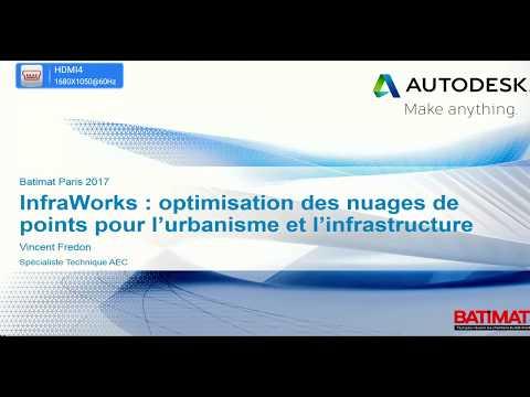 InfraWorks optimisation des nuages de points pour l'urbanisme et l'infrastructure