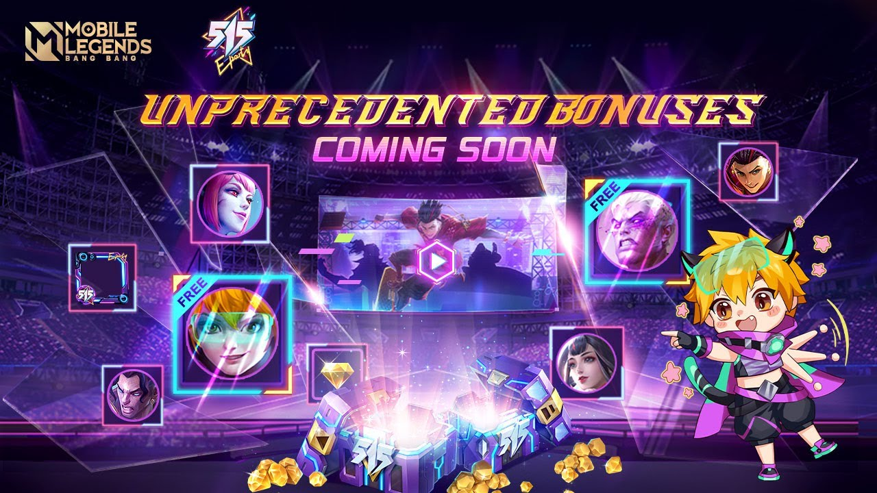 515 Events Preview | 515 Eparty | Mobile Legends: Bang Bang