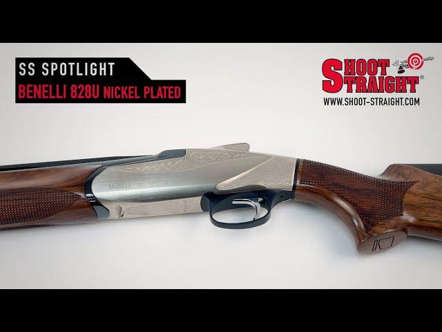 Benelli 828U - Nickel Plated - Over/Under Shotgun - Shoot Straight Spotlight
