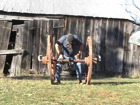 Teeth Lift 2 Conestoga Wagon Wheels 245lbs.