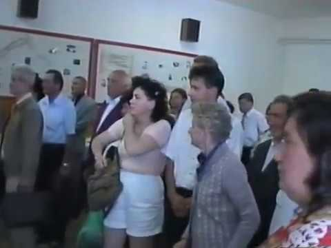 """""""Štefánik žije v rodnom kraji"""" - odhalenie pamätníka M.R.Štefánika v Priepasnom v roku 1999"""