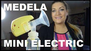 Medela Mini Electric Pump Review Demo