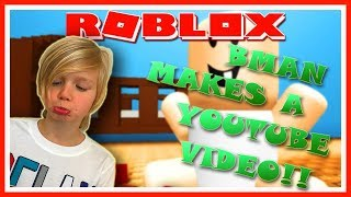 My First ROBLOX Youtube Video | ROBLOX | Family Friendly | Kid Gaming | E-Rated |