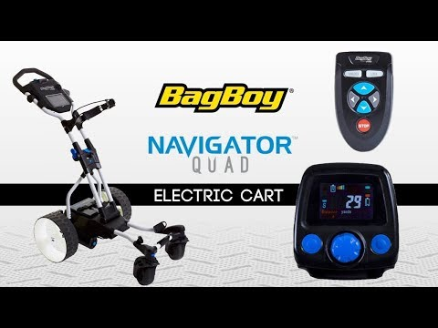 Golf Spotlight 2019 - Bag Boy Navigator Quad Cart