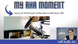 January 19, 2019 | Heather and Ray Adams on NBC Sports 1060