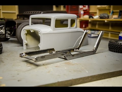 RCengineering, Scale RC Rat Rod Chassis Fabrication and Welding