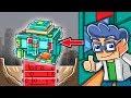 Minecraft - SINKHOLE VS LEGO HOUSE! (Worlds Strongest Lego House)