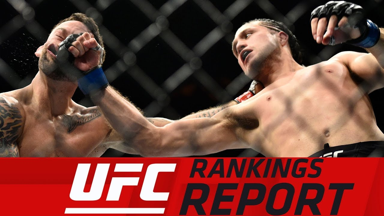 UFC Rankings Report: Brian Ortega Jumps to No. 1