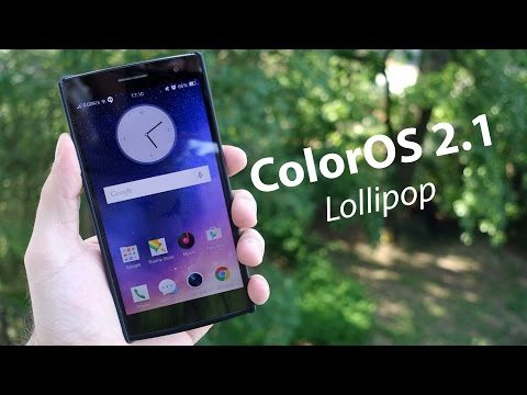 ColorOS 2.1 Lollipop - First look (OPPO Find 7)