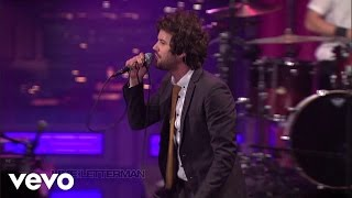 Passion Pit - Carried Away (Live on Letterman)