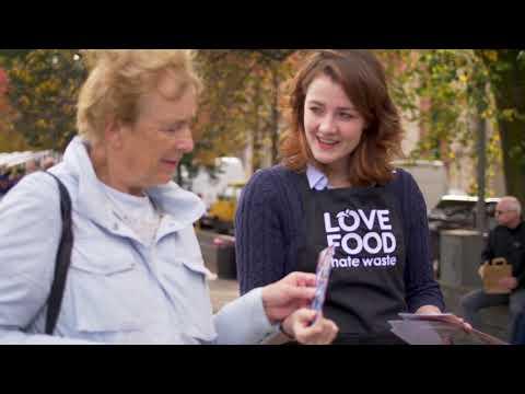 Love Food Hate Waste - Food Market Edinburgh