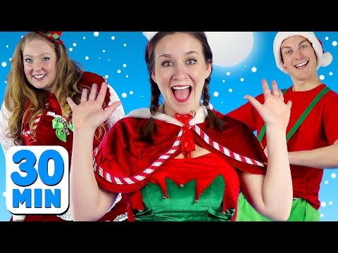 Thumbnail: Jingle Bells and More Kids Songs! | Christmas Songs and Nursery Rhymes