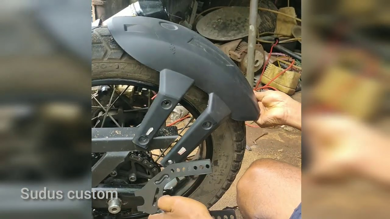 mud guard modifications || himalayan || royal enfield ||  off road