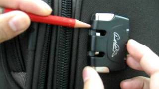 Repeat youtube video Steps to reset combination lock