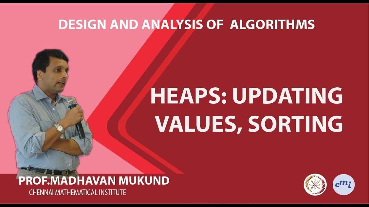 Dijkstra's algorithm with heaps