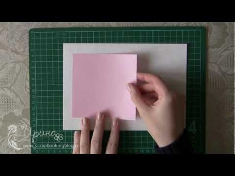 3D открытка с сердечком мастер класс (3D card with heart tutorial)