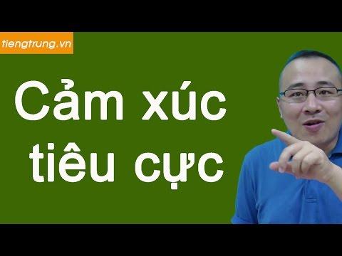Học tiếng Trung theo chủ đề : Cảm xúc tiêu cực bằng tiếng Trung