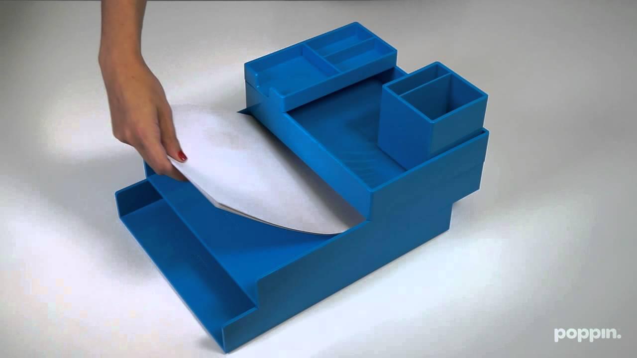 Meet The Stackable Desk Set