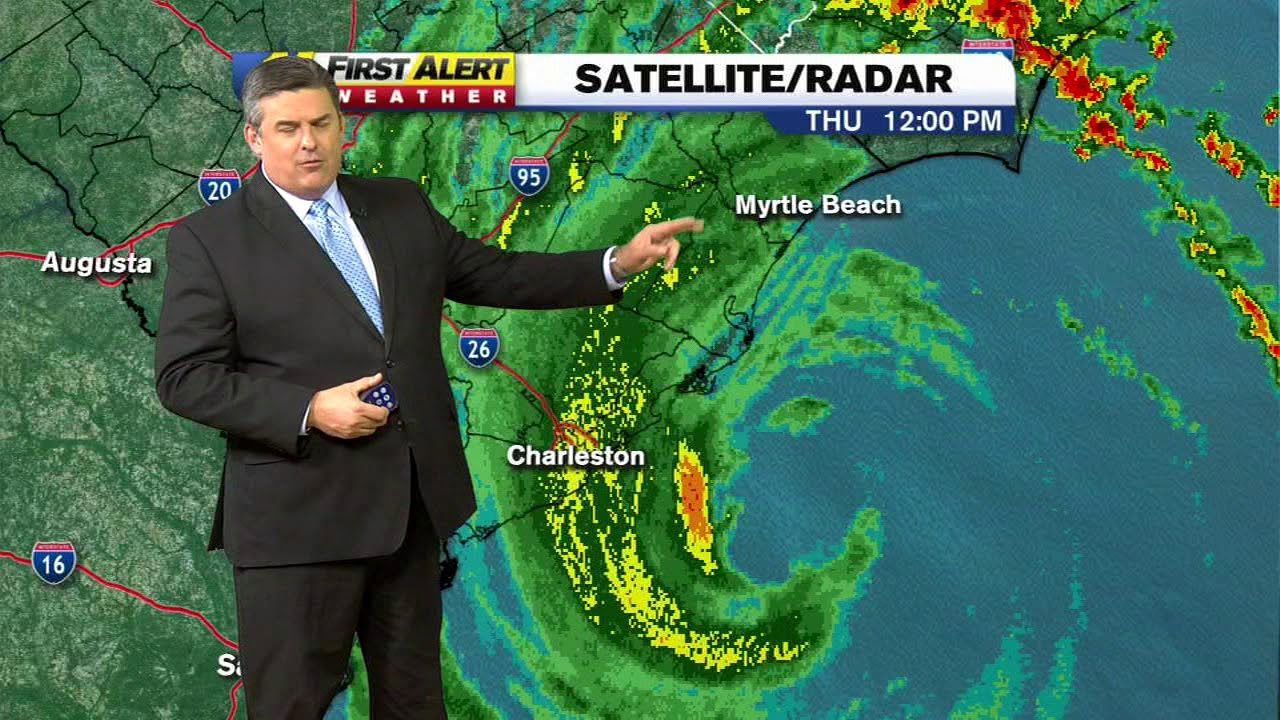 Hurricane Dorian NC: Weather impact now felt in Raleigh, North Carolina as  path tracks toward coast