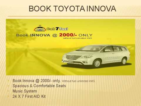 Cab7Taxi - Best Car Rental Company in Ahmedabad, India