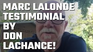 🎥 Testimonial by Don Lachance