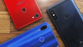 Xiaomi Redmi Note 5 vs Oppo F7 vs Huawei P20 Lite | هجيبلك من الأخر !!